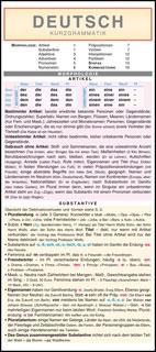 Deutsche Kurzgrammatik