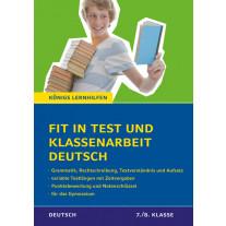 Fit in Test und Klassenarbeit – Deutsch 7./8. Klasse Gymnasium
