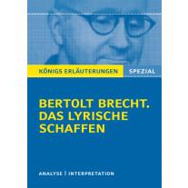 Brecht. Das lyrische Schaffen