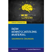 Dein Homeschooling Material - Grammatik-Übungen