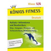 Aufsatz - Informieren: Beschreiben. Deutsch Klasse 5/6