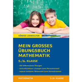 Mein großes Übungsbuch Mathematik. 5./6. Klasse.