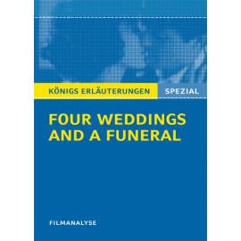 Filmanalyse zu Four Weddings and a Funeral - Vier Hochzeiten und ein Todesfall