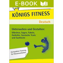 Aufsatz - Untersuchen und Gestalten. Deutsch Klasse 5/6