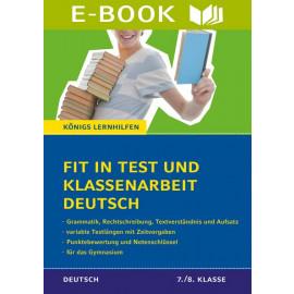 Fit in Test und Klassenarbeit – Deutsch 5./6. Klasse Gymnasium