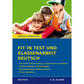 Fit in Test und Klassenarbeit Deutsch-Paket