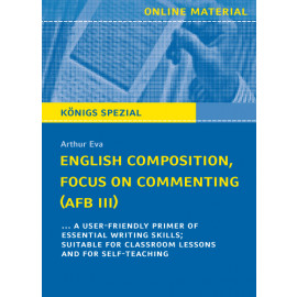 English Composition, Focus on Commenting (AFB III)