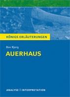 Titelcover Auerhaus. Bjerg. Königs Erläuterungen