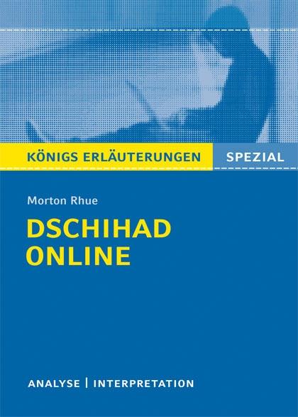 Königs Erläuterung: dschihad online - Titelcover