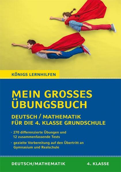 Titelcover - Grundschule 4. Klasse Deutsch Mathe