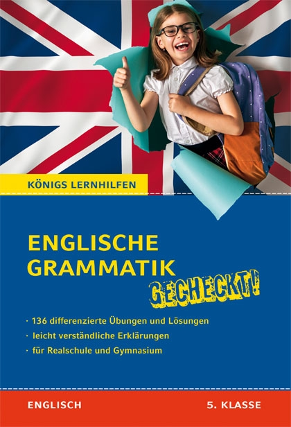 Titelcover - Englische Grammatik gecheckt 5. Klasse
