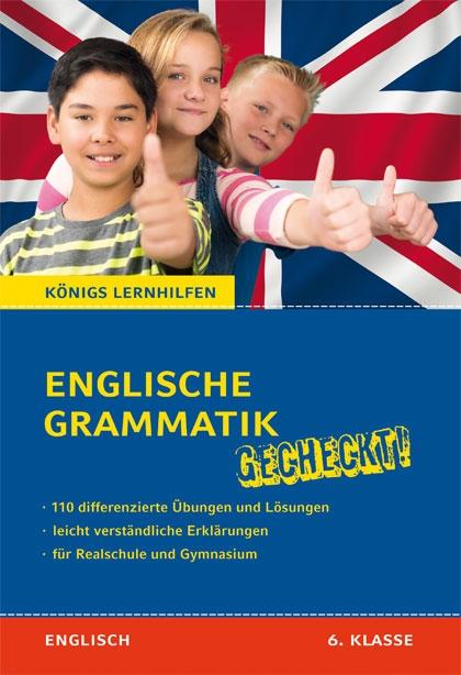 Titelcover - Englische Grammatik gecheckt 6. Klasse