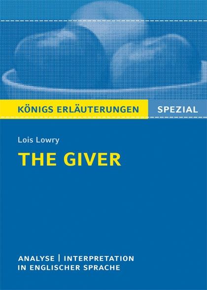 Titelcover - The Giver Königs Erläuterungen