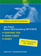 Königs Erläuterungen: Abi-Paket Baden-Württemberg 2016 & 2017