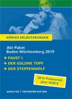 Königs Erläuterungen: Abi-Paket Baden-Württemberg 2019